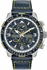 Citizen JY8078-01L Eco-Drive Blue Leather Promaster Chronograph 46mm Watch