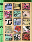 Paris Moments 4557 rubber stamp by Hampton Art NEW