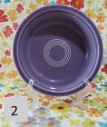 Post-'86 Fiesta Fiestaware Cereal Bowl Retired Lilac Purple 1995 Collectible