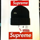 FW19 SUPREME LACOSTE BEANIE (BLACK) BOX LOGO LACOSTE PIQUE 6-PANEL MESSENGER BAG