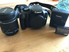 Canon EOS Rebel T3 EOS 1100D 122MP Digital SLR Camera Black Kit w EF S