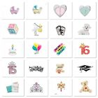 Authentic Origami Owl Charms BABY GRAD BIRTHDAY Your Choice Combined Shipping