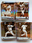 2019 Topps Chrome SEPIA REFRACTOR 81 204 SET LOT No Dupes Rookies and Stars