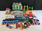81PC Thomas the Train & Friends Motorized Trackmaster LOT Cars Track Station