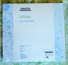 Creative Memories 12 X 12 White Scrapbook Pages TRUE size NEW