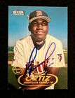 RARE DAVID ORTIZ ROOKIE AUTO 1998 Fleer MLB Debut On-Card Blue Ink Autograph