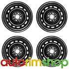 New 15 Replacement Wheels Rims for Mazda 2 2011 2012 2013 2014 Set Black
