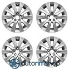New 18 Replacement Wheels Rims for Honda Accord 2008 2009 2010 Set Silver