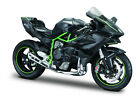 Kawasaki Ninja H2 R Anthracite Scale 1:12 Motorcycle Model from maisto