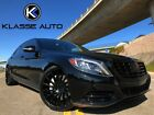 2015 Mercedes Benz S Class S 550 2015 Mercedes Benz S 550 Sedan Low Miles Custom Wheels Blacked Out Trim Must See