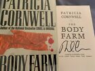 Signed 1st 1st THE BODY FARM by Patricia Cornwell 1994 hardcover