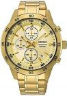 SEIKO SKS646P1 Chronograph Neo Sport 2 Gold Plated 100M Gents 2Yr Guar RRP £360.