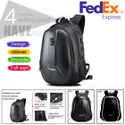 Carbon Fiber Look Motorcycle Helmet Bag Travel Luggage Backpack Bag Waterproof