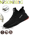 Mens Work Safety Shoes Steel Toe Bulletproof Boots Indestructible Sneakers US