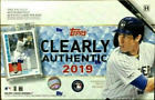 2019 TOPPS CLEARLY AUTHENTIC HOBBY BASEBALL 20 BOX CASE