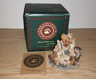 NIB, Boyds Bears Bearstone, Bailey & Wixie, To Have & To Hold 24E Resin Figurine