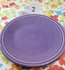 Fiesta Salad Plate - Lilac - Limited Edition Color, Collectible, Used