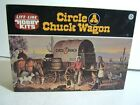 Vintage Life Like 1/48 Scale Circle A Ranch Old West Chuck Wagon Model Kit