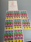 1989 3M Vintage Scratch and Sniff Stickers Lot 9 Sheets Bubblegum Scent HT 857