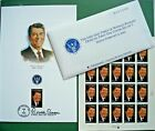 Lot Ronald Reagan Stamps Sheet Envelopes First Day Issue Feb 5 2005 Simi Valley