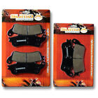 Honda F+R Brake Disc Pads ST 1100 A (ABS Model) ST 1300 (02-07) VTX 1800 (02-13)