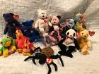Beanie Babies Baby lot of (14) Princess, Valentino, Spangle, and more