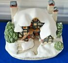 Christmas 2009 David Winter Cottages LET IT SNOW FDW 66 Hymns and Carols Box COA