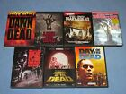 7 DVD Lot George A Romero DEAD Collection Night Dawn Day Land Diary Survival