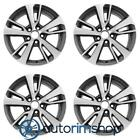 New 17 Replacement Wheels Rims for Toyota RAV4 2016 2018 Set Machined with Char