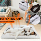 S L Dog Cat Pet Mat Bed Pad Self Heating Soft Warm Rug Thermal Washable Home
