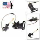 Rear Disc Brake Assembly Caliper Master Cylinder SSR Dirt Bikes for 90cc 150cc