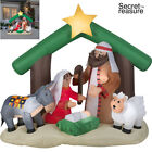 Inflatable Holy Family Nativity Scene Christmas Holiday Decoration Outdoor New