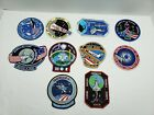 NASA SPACE SHUTTLE space mission patches lot of 10