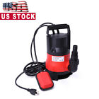 1 2 HP 2000 GPH 400W Submersible Water Pump Swimming Pool Dirty Flood Clean Pond