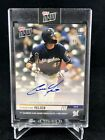 2019 TOPPS NOW #90A CHRISTIAN YELICH ON-CARD AUTO 99 1ST CAREER 3-HR GAME