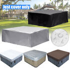 14 Size Garden Oxford Fabric Hot Tub Spa Cover Waterproof Dust Protector Case