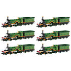 Bachmann Trains HO Thomas & Friends Emily Sterling Single Engine Model (6 Pack)