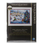 Dimensions Gold Collection Counted Cross Stitch Kit 16X12 Winter Celebration