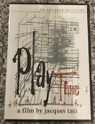 Playtime The Criterion Collection DVD NEW OOP Jacques Tati