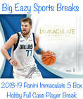 Trae Young 2018-19 Panini Immaculate Basketball 5 Box Full Case Player Break
