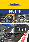 WILLIAMS FW14B REF PICTURE BOOK for TAMIYA HIRO FUJIMI MANSELL BERGER 1/20 1/12