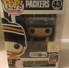 Funko POP! 43 NFL Green Bay Packers AARON RODGERS TOYS R US EXCLUSIVE RARE NEW