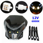 Motorcycle Front LED Headlight Fairing Light Cross-country Dual Street Fighter