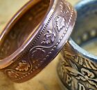 Coin Ring Made From Copper Canadian Large Cent Penny Over 100 Year Old Coin 3 12