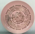 Vintage 1958 Birth Year Wall Decorative Collection Plate