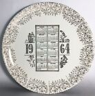 Vintage 1964 Birth Year Wall Decorative Collection Plate
