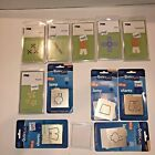 QuicKutz Shapes Personal Die Cutting System Lot Shorts Lamp Basketball Flowers