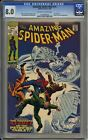 Amazing Spider-man 74 CGC 8.0 - Off White to White Pages