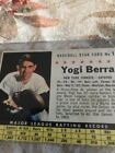Celebrate the Life of Yogi Berra with His Top Baseball Cards 13
