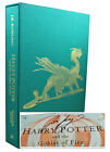JK Rowling HARRY POTTER GOBLET FIRE Signed Limited Illustrated Deluxe Jim Kay